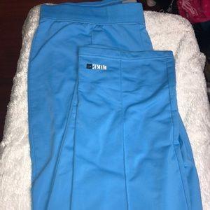 Nike Blue old school sweat pants